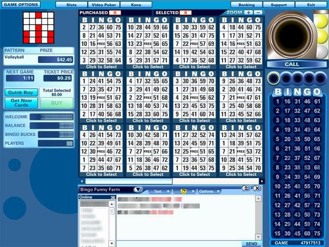 90 ball bingo halls